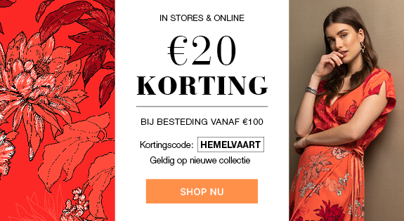 €20 korting campagne