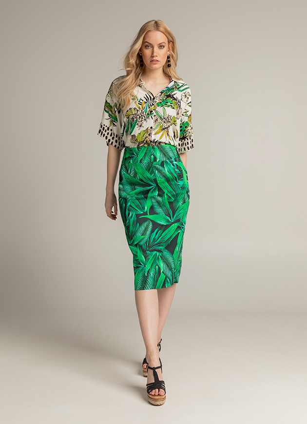 JUNGLE CHIC- LOOK 004
