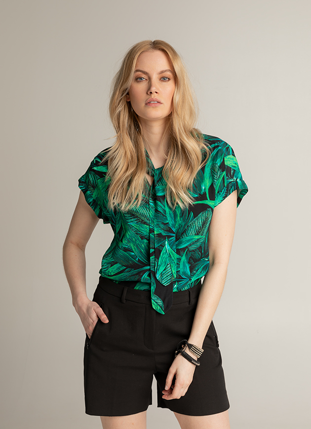 JUNGLE CHIC- LOOK 009